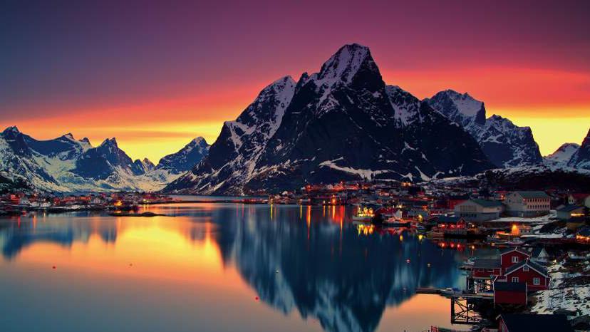 Lofoten Norge 2021